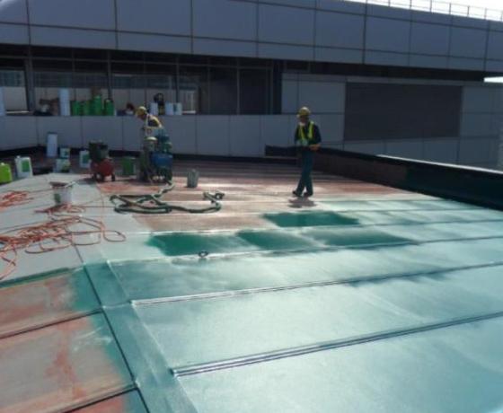 Footbridge Roof Jv Polymers